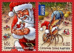 Australien / Christmas Island 2014 , Christmas / Weihnachten / Noel - CTO Gestempelt / Fine Used / (o) - Christmas Island