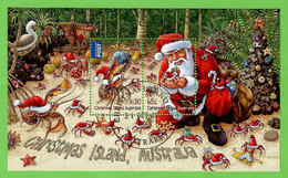 Australien / Christmas Island 2014 , Christmas / Weihnachten / Noel - Sheet - CTO Gestempelt / Fine Used / (o) - Christmas Island