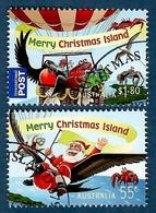 Australien / Christmas Island 2013 Mi.Nr. 769 / 770 , Christmas / Weihnachten / Noel - CTO Gestempelt / Fine Used / ( O) - Christmas Island
