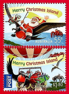 Australien / Christmas Island 2013 Mi.Nr. 769 / 770 , Christmas / Weihnachten / Noel - Postfrisch / MNH / (**) - Christmas Island