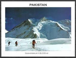 PAKISTAN POSTCARD , VIEW CARD  GASHERBRUM II 8035 M MOUNTAIN - Pakistan