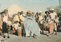 CPA L'AFRIQUE EN COULEURS NATURELLES  - L'Amour De La Danse 1961 - Unclassified