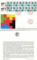 FRANCE - FDC GRANDE ENVELOPPE - 1992  CROIX ROUGE PREMIER JOUR 28.11.1992 STRASBOURG  / TBS - Non Classificati