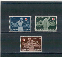 1957 - Croix-Rouge Du Congo. - 1948-61: Nuovi