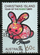 Australien / Christmas Island 2011  Mi.Nr. 789 , Year Of The Rabbit - CTO Gestempelt / Fine Used / (o) - Christmas Island