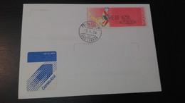 Portugal - Carta Circulada ATM Brinquedos (Toy) - Vignette Di Affrancatura (ATM/Frama)