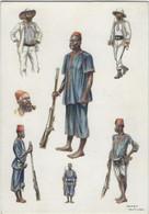 Histoire De La Force Publique Du Congo,d'après Des Aquarelles  De James Thiriar. - Unclassified