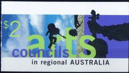 Australia 1996 Mi.No. 1595 - 1596  Australien Dance, Music, Music Instruments Bookllet  MNH**  4,00 € - Mint Stamps