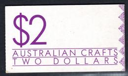 AUSTRALIA - 1988 AUSTRALIAN CRAFTS $2 BOOKLET FINE USED CTO SG SB63 (2 SCANS) - Booklets
