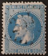 29A (cote 10 €) Déf, Obl GC 254 Auzon (41 Haute Loire ) Ind 9 ; Frappe Nette Et Centrée - 1849-1876: Classic Period