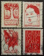 FRANCE Série N°2772 Au 2775 Oblitéré - Lots & Kiloware (mixtures) - Max. 999 Stamps