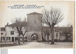 CPA (24)  MONPAZIER.  Vieille Porte.  .I 790 - Autres Communes
