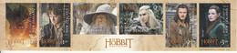 "2014 New Zealand ""The Hobbit"" Film Cinema  Tolkien Miniature Sheet Of 6 MNH @BELOW FACE VALUE - Unused Stamps"