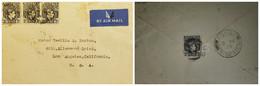 O) 1939 NIGERIA, KING GEORGE VI, AIRMAIL TO USA - Nigeria (1961-...)