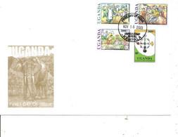Ouganda ( FDC De 2001 à Voir) - Uganda (1962-...)