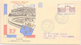 FRANCE - FDC CONGRES DE VERSAILLES 17.12.1953 - ELECTION PRESIDENT DE LA REPUBLIQUE   / 2 - 1950-1959