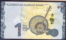 Azerbaijan 1 Manat 2020 UNC P- New - Azerbaïdjan