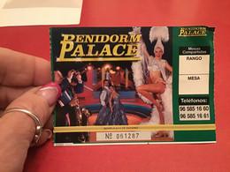 Invitation Casino Villajoyosa Restaurant Costa Blanca Palace Penidorm - Unclassified
