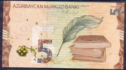 Azerbaijan 5 Manat 2020 UNC P- New - Azerbaïjan