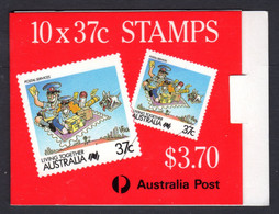 AUSTRALIA - 1988 LEIGH-MARDON PRINTED $3.70 LIVING TOGETHER BOOKLET FINE USED CTO SG SB59 (2 SCANS) - Booklets