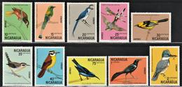 1971 Nicaragua Birds Set (** / MNH / UMM) - Sperlingsvögel & Singvögel