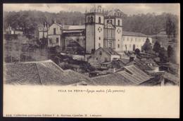 VILLA Da FEIRA Convento Dos Loios E Igrega Matriz. Edição De F.A.MARTINS. Old Postcard (Aveiro) PORTUGAL 1900s - Santarem