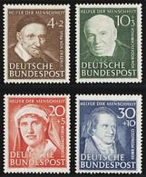 Bund Mi 143 - 46 **  Postfrisch , Einwandfrei - Unused Stamps