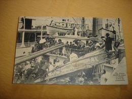 TRES BELLE CARTE !! ANTWERPEN ANVERS - DEPART AU CONGO A BORD DU LEOPOLDVILLE ( 1922 - TOP ANIMATION !! ) - Antwerpen