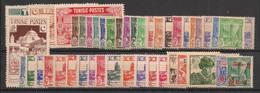 Tunisie - 1945 - Année Complète - Du N°Yv. 269 Au 303 - Neuf  Luxe ** / MNH / Postfrisch - Unused Stamps