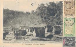 K16 - Madagascar -  AMBOSITRA - Village Tanala - Madagascar
