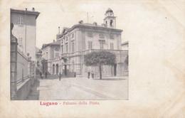 Postcard Lugano Palazzo Della Posta [ Early Undivided Back ] My Ref B14300 - TI Ticino