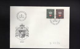 1969 - FDC Der Dienstmarken - Official