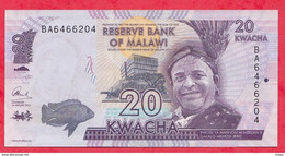 Malawi 20 Kwacha 2016 En UNC (2) - Malawi
