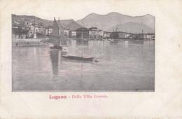 Postcard Lugano Dalla Villa Ceresio [ Early Undivided Back ] My Ref B14301 - TI Ticino