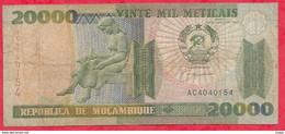 Mozambique 20000 Meticais 1999 Dans L ' état   (7) - Mozambique