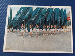 USSR PROPAGANDA - Moscow 1ST MAY Demonstration In August 1945 - Soviet Sport - Old Postcard  1946 - Russia