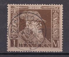 Bayern - 1911 - Michel Nr. 86 Type I K2 OSTERHOFEN - Gestempelt - 30 Euro - Bavaria