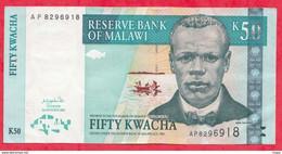 Malawi 50 Kwacha Du 01/01/2012----UNC---(14) - Malawi