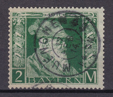 Bayern - 1911 - Michel Nr. 87 Type I - Gestempelt - 80 Euro - Bavaria