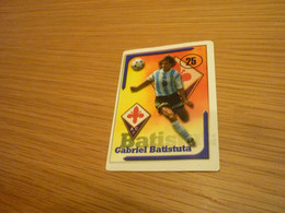 Gabriel Batistuta Fiorentina Italian Argentine Football Soccer Old Greek Edition Sticker - Other