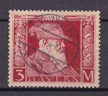 Bayern - 1911 - Michel Nr. 88 Type I - Gestempelt - 55 Euro - Bavaria