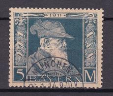 Bayern - 1911 - Michel Nr. 89 Type I - Gestempelt - 60 Euro - Bavaria