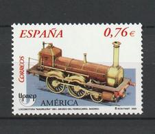 Spain Espagne España, 2003, UPAEP, Locomotive 1v, **, Nr. Michel:  3886 - 2001-10 Ungebraucht