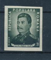 Romania 1949, The 70th Anniversary Of The Birth Of Stalin, Mi#1195B,MNH - Sin Clasificación