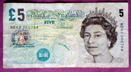 UNITED KINGDOM . 5 POUNDS 2012 CUHAY 391 - Unclassified