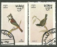 OI-152 Oman Mésange Tit Oiseau Bird Uccello Vogel - Zonder Classificatie