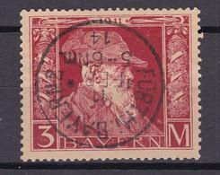 Bayern - 1911 - Michel Nr. 88 Type II K1 Einkreis Fürth I. Bayern2 - Gestempelt - 95 Euro - Bavaria