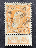 Leopold II Grove Baard 79 - 1fr Gestempeld EC WIJGMAEL BRABANT - 1905 Thick Beard