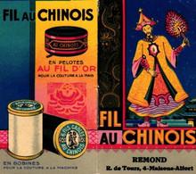 1 Calendrier 1933  Fil Au Chinois Au Fil D'Or Couture à La Main - Small : 1921-40