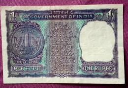 INDIA : 1 RUPEE 1977 CUHAJ 77 - India